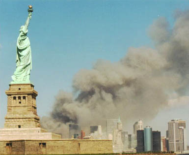 This is a public domain picture of 911 by NPS.