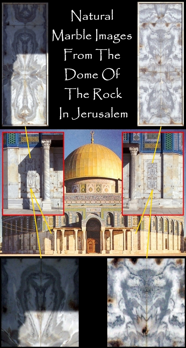 Images on Dome of Rock