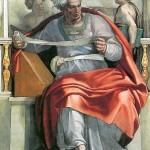 Prophet Joel_(Michelangelo)-Public Domain compliments of Wikipedia