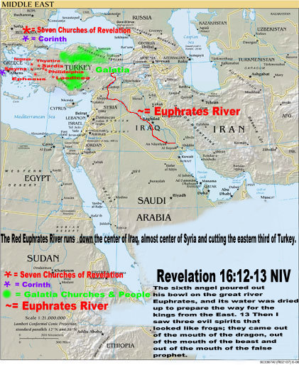 The Four Angels are demonic and control all Islam, Especially Islam East of the Euphrates River. The 200 million are Islamic fascists, not China. Image copyrighted by RobertLeeRE