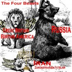 The four Beasts of Daniel's last seventy years