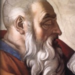 Zechariah image PD by  Michelangelo compliments Wikipedia